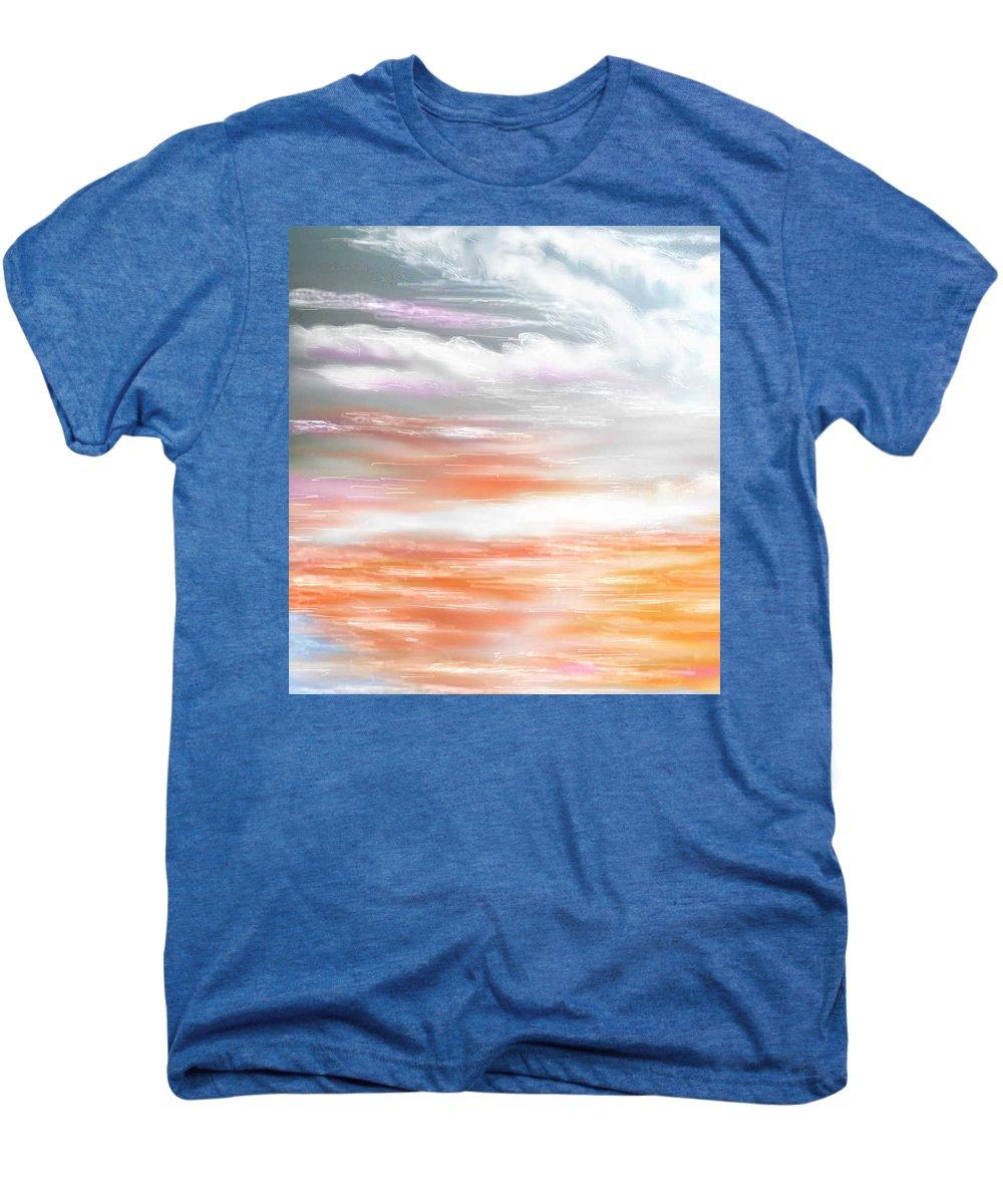 Inspirational Art Men's Premium T-Shirt featuring the digital art A Light Unto My Path by Brenda L Spencer