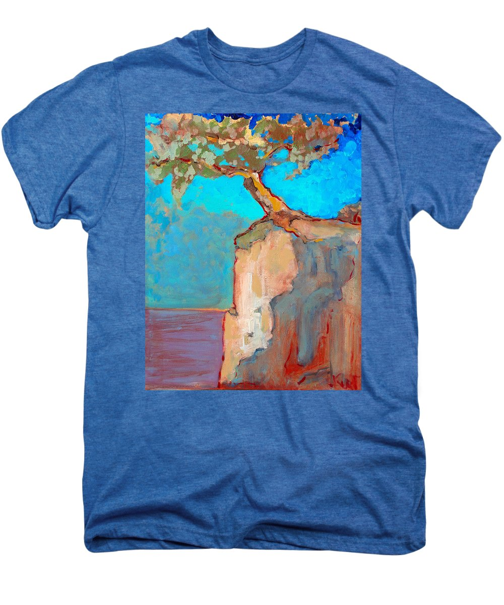 Tree Men's Premium T-Shirt featuring the painting Albero by Kurt Hausmann