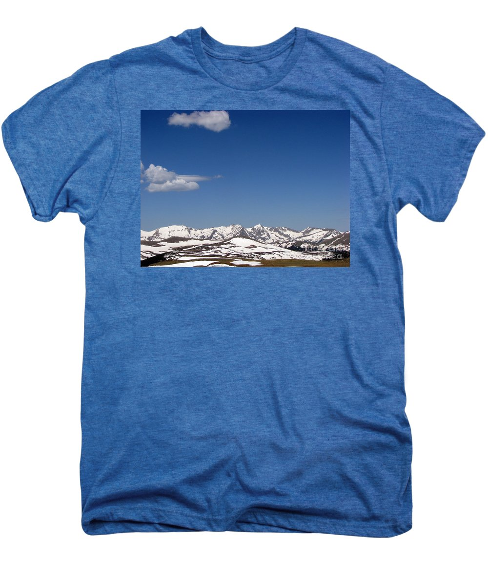 Mountains Men's Premium T-Shirt featuring the photograph Alpine Tundra Series by Amanda Barcon
