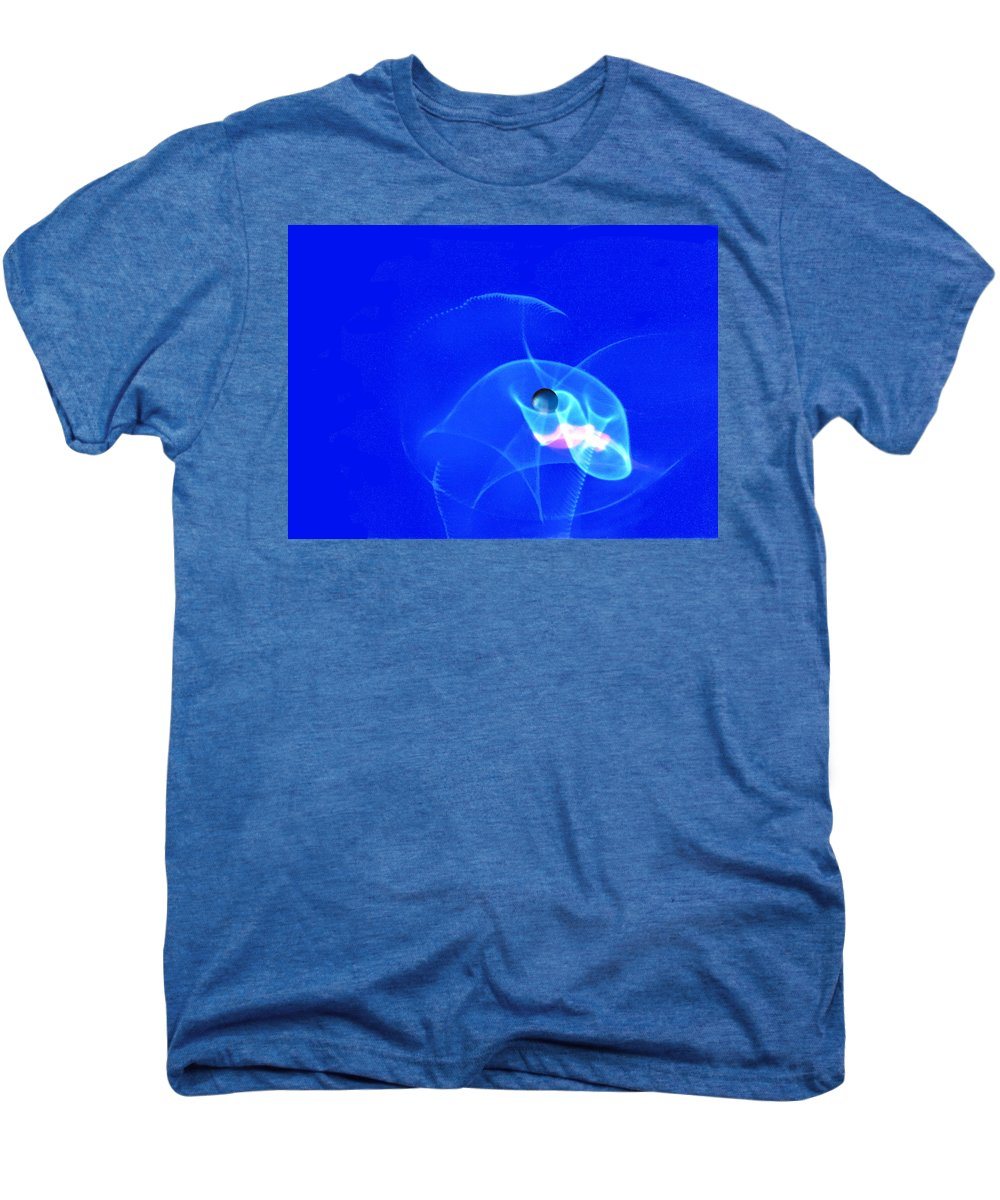 Abstract Men's Premium T-Shirt featuring the photograph Apparition Pearl by Steve Karol