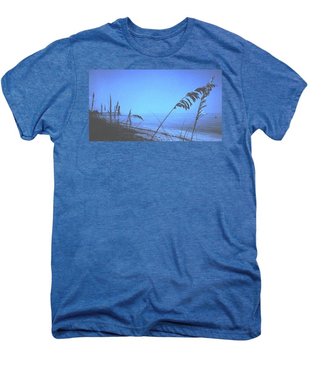 Men's Premium T-Shirt featuring the photograph Bahama Blue by Ian MacDonald
