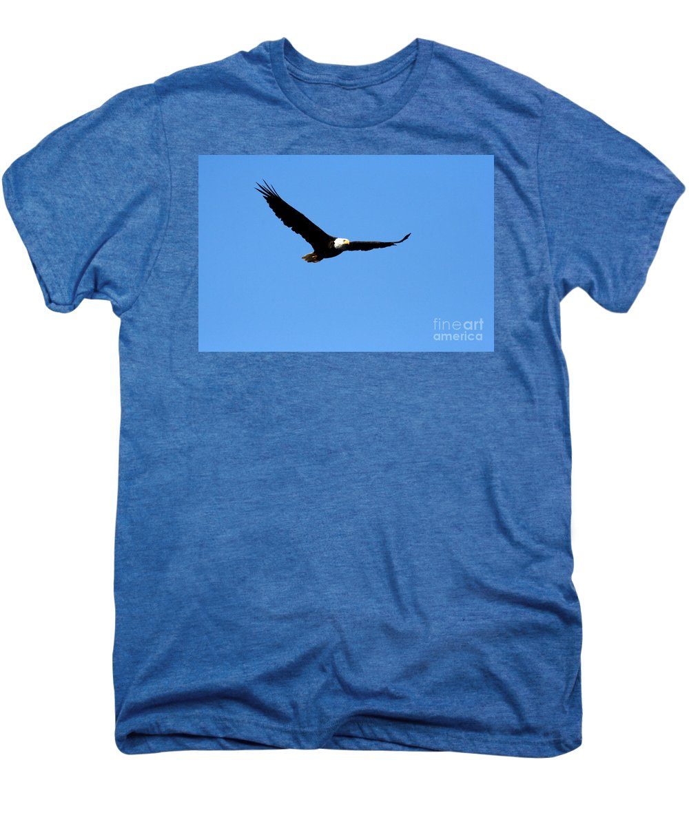 Eagle Men's Premium T-Shirt featuring the photograph Bald Eagle II by Thomas Marchessault