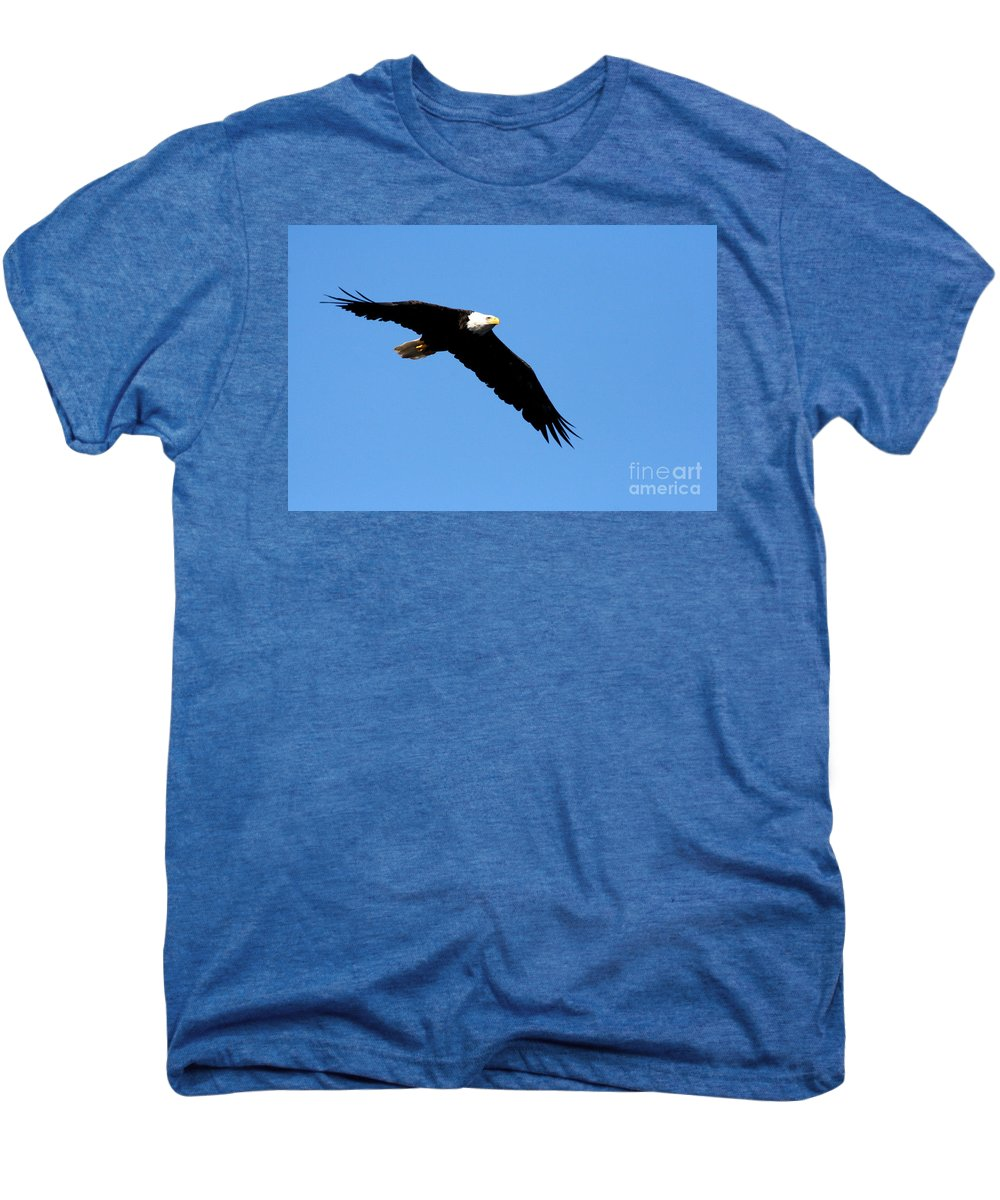 Eagle Men's Premium T-Shirt featuring the photograph Bald Eagle IIi by Thomas Marchessault