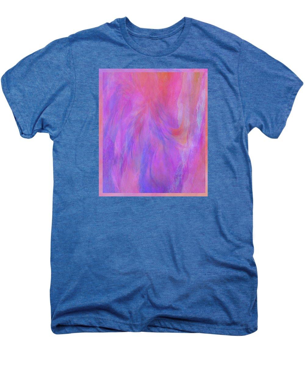 Digital Art Men's Premium T-Shirt featuring the digital art Blossom by Linda Murphy