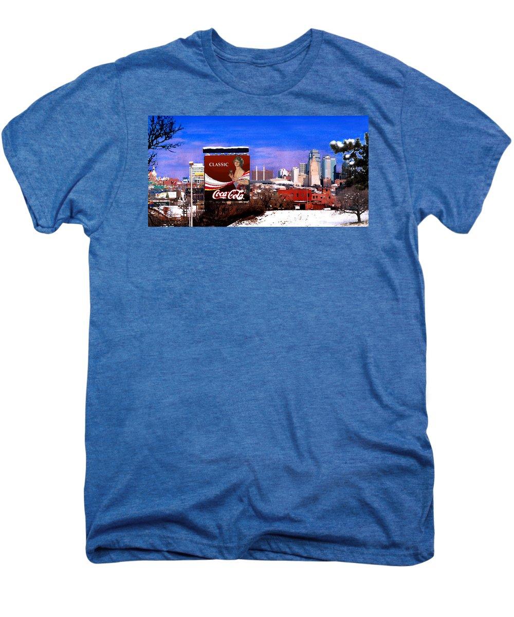 Landscape Men's Premium T-Shirt featuring the photograph Classic by Steve Karol