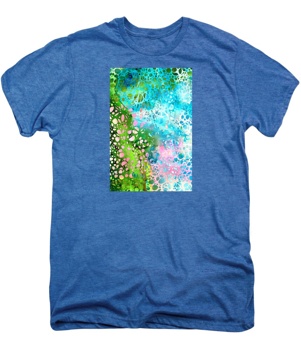 Abstract Landscape Paintings Premium T-Shirts