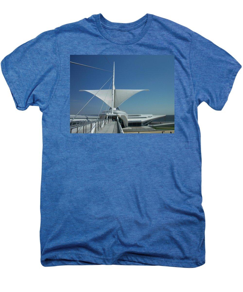 Mam Men's Premium T-Shirt featuring the photograph Mam Series 4 by Anita Burgermeister