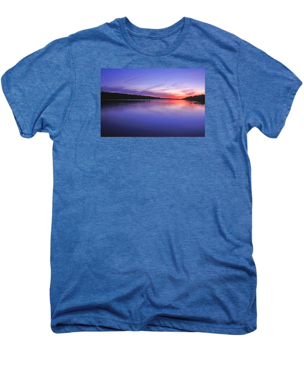 Landscape Men's Premium T-Shirt featuring the photograph Manidooziibi by Bill Morgenstern