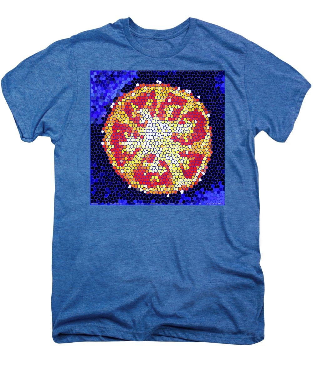 Tomato Men's Premium T-Shirt featuring the photograph Mosaic Tomato by Nancy Mueller
