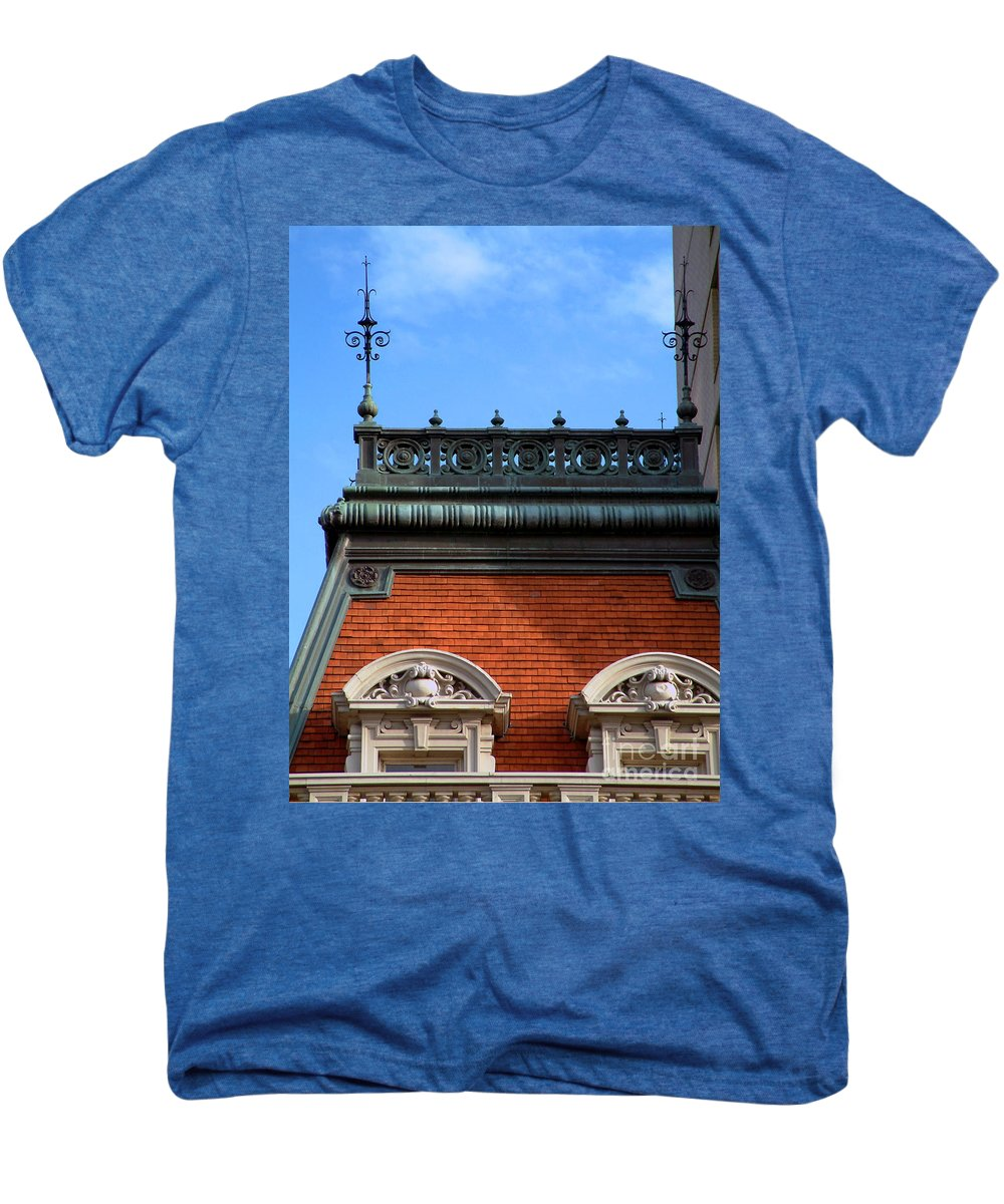 Apartment Men's Premium T-Shirt featuring the photograph On A Clear Day by RC DeWinter