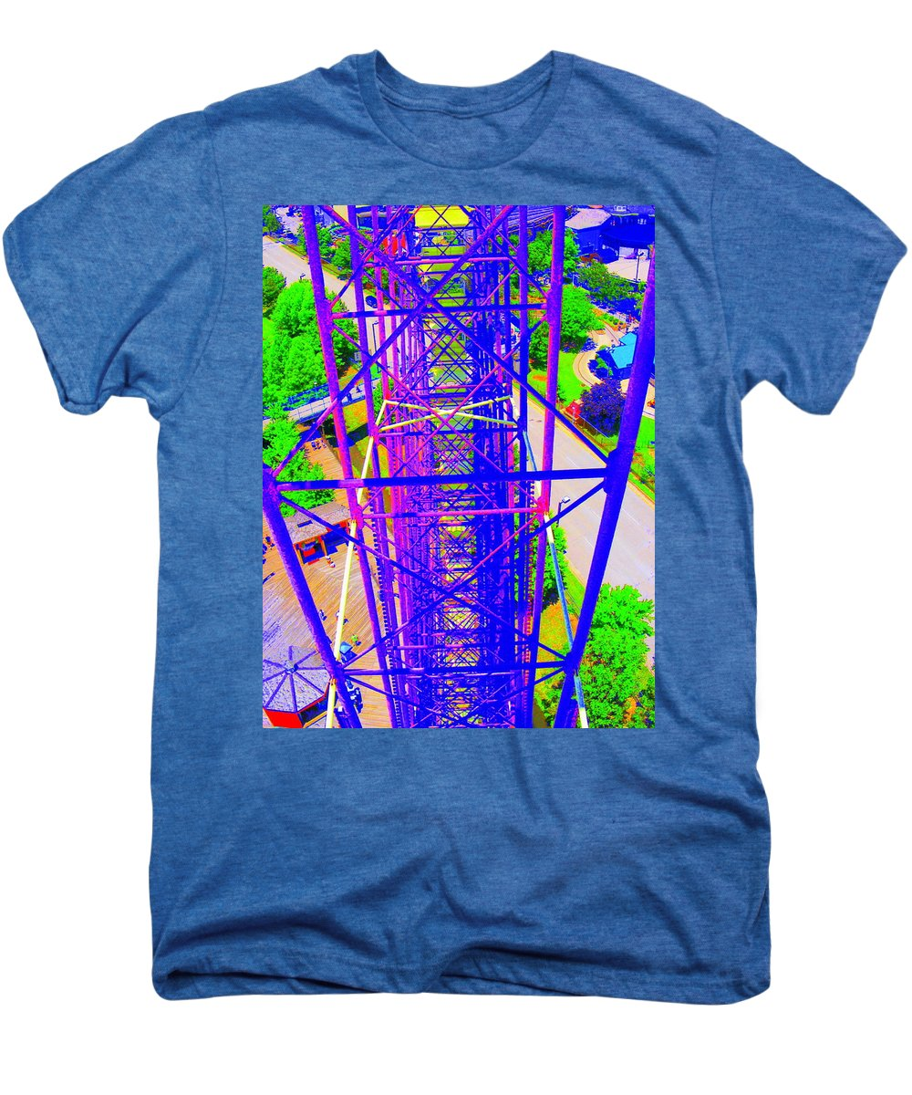 Still Life Men's Premium T-Shirt featuring the photograph On Top Of The World by Ed Smith