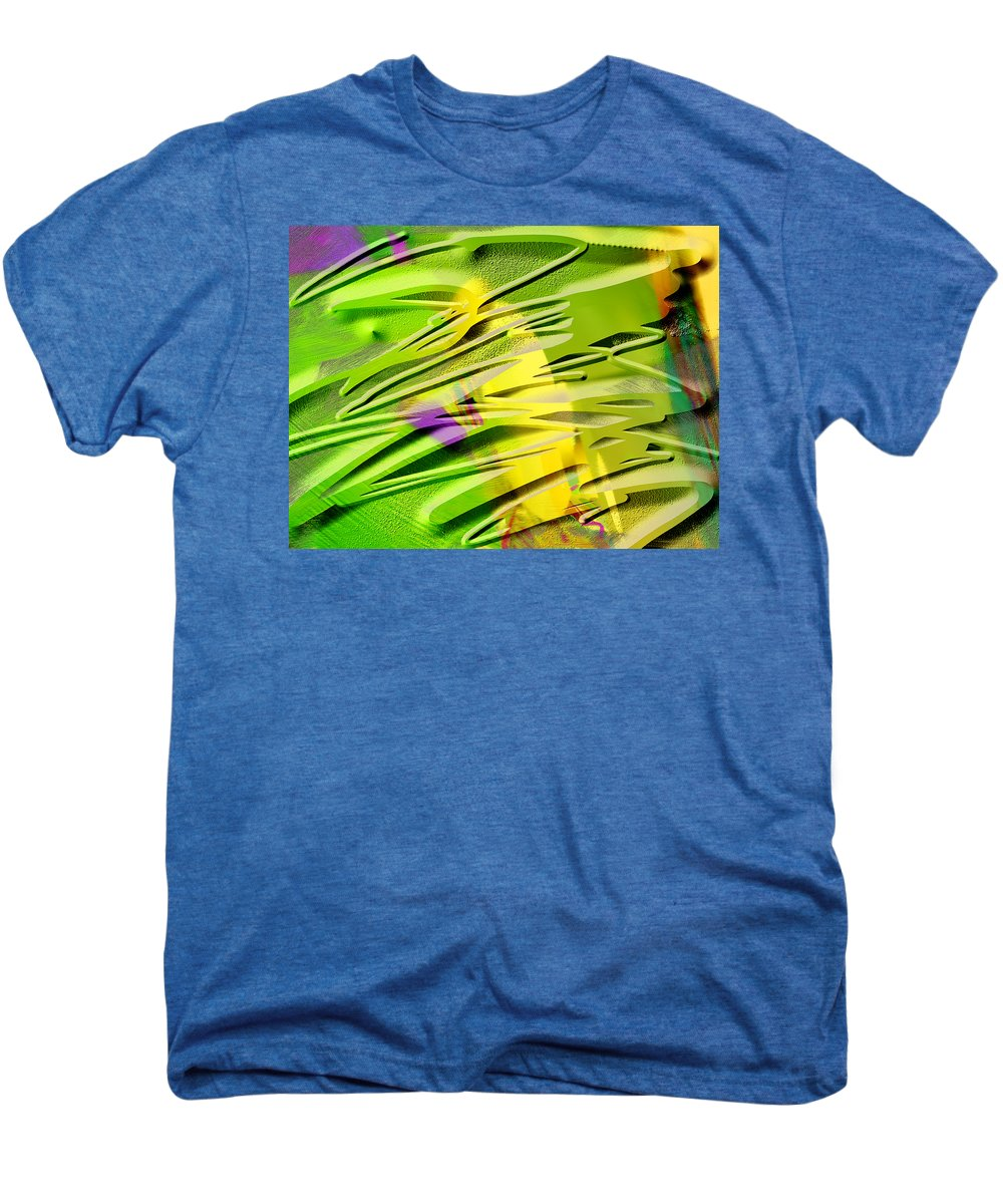 Scott Piers Men's Premium T-Shirt featuring the painting P39b by Scott Piers