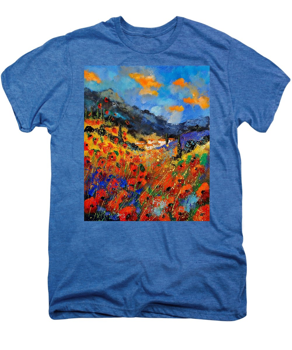 Men's Premium T-Shirt featuring the painting Provence 459020 by Pol Ledent