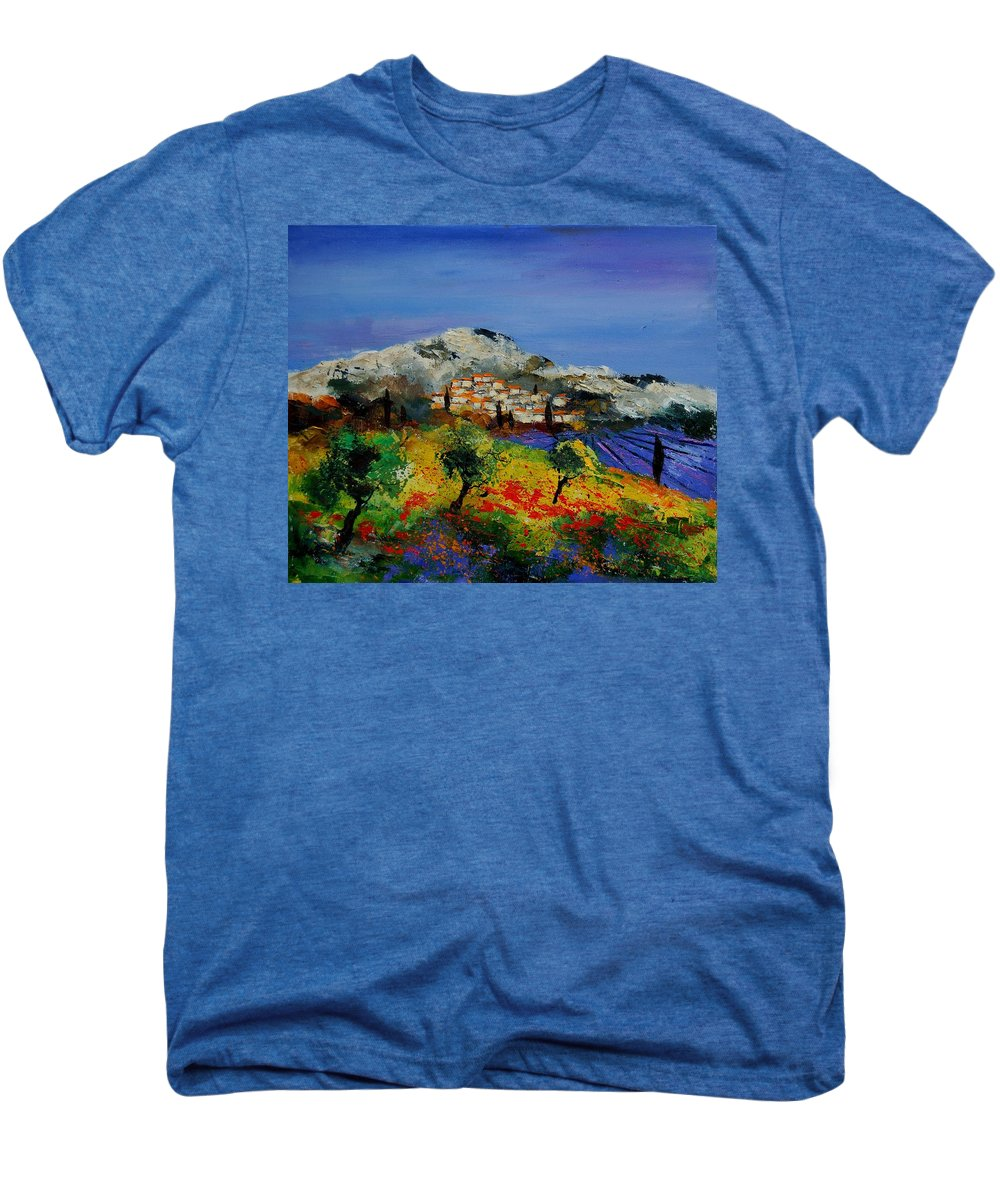 Provence Men's Premium T-Shirt featuring the painting Provence 569010 by Pol Ledent