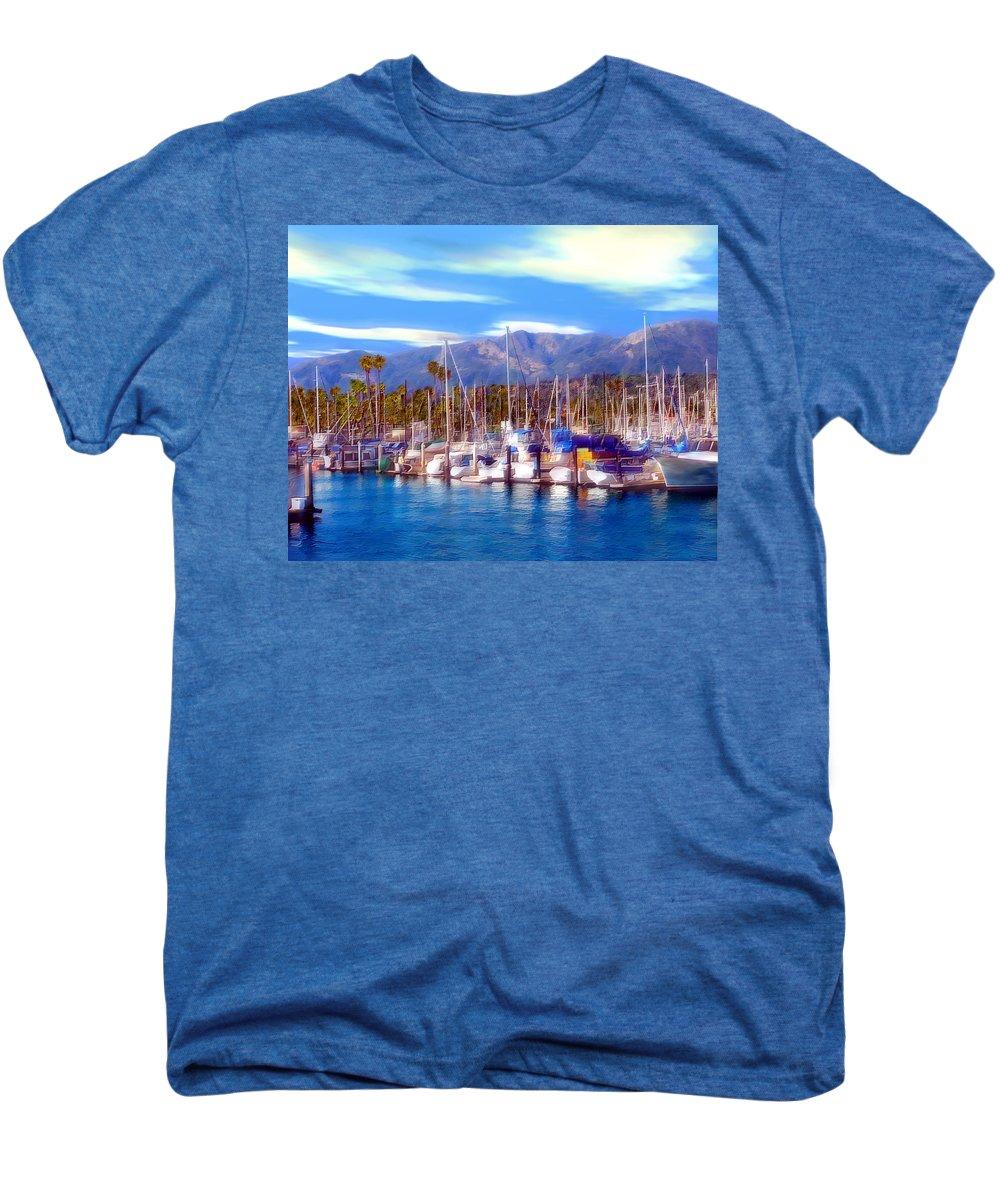 Charbor Men's Premium T-Shirt featuring the photograph Safe Haven by Kurt Van Wagner