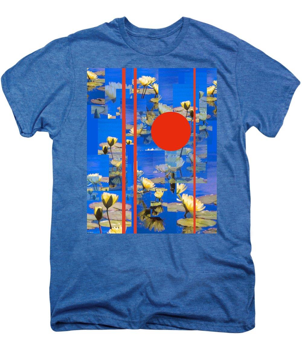 Flowers Men's Premium T-Shirt featuring the photograph Vertical Horizon by Steve Karol