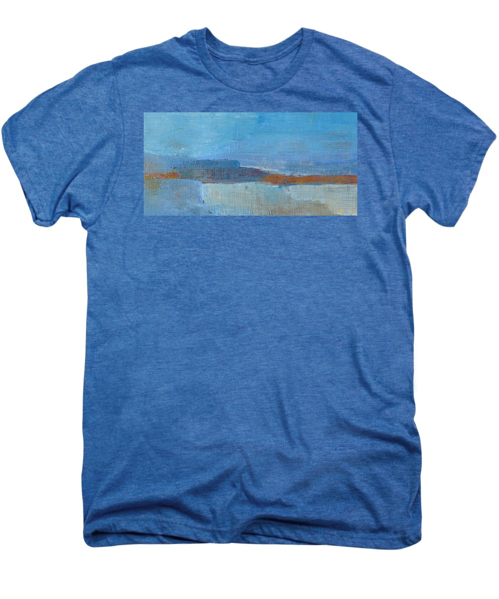 Abstract Men's Premium T-Shirt featuring the painting Vision by Habib Ayat