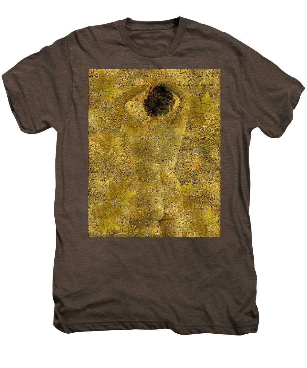 Nudes Men's Premium T-Shirt featuring the photograph Jenni by Kurt Van Wagner