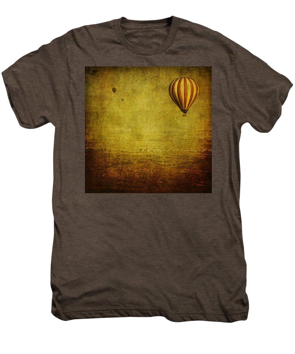 Hot Men's Premium T-Shirt featuring the photograph Drifting by Andrew Paranavitana