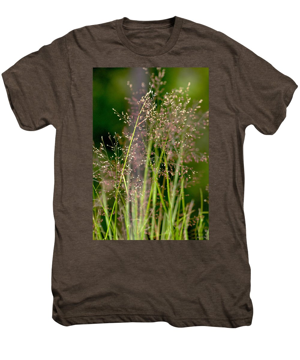 Floral Men's Premium T-Shirt featuring the photograph Memories Of Springtime by Holly Kempe