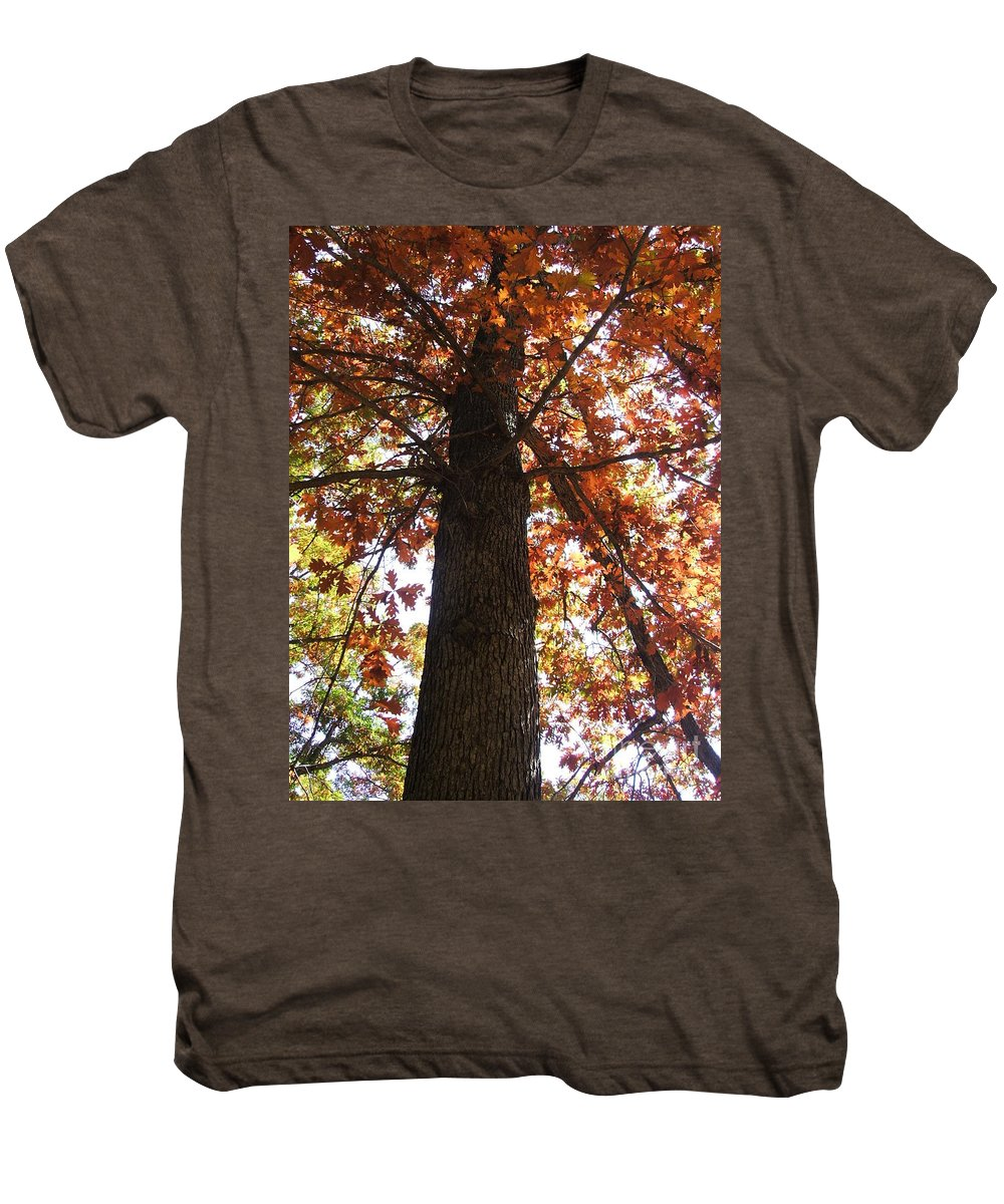 Tree Men's Premium T-Shirt featuring the photograph Up Fall by Minding My Visions by Adri and Ray