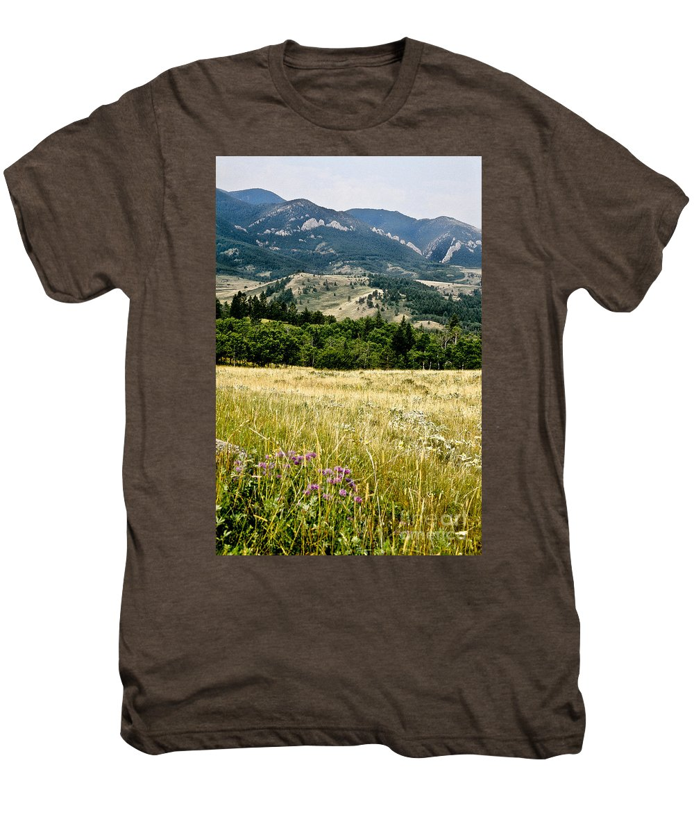 Wilderness Men's Premium T-Shirt featuring the photograph Washake Wilderness by Kathy McClure