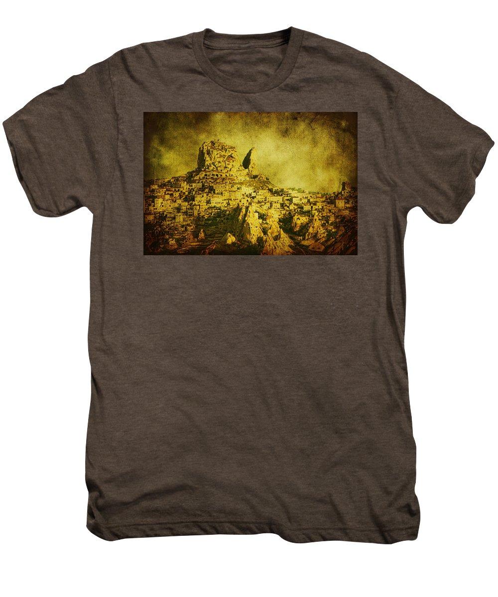 Cappadocia Men's Premium T-Shirt featuring the photograph Persian Empire by Andrew Paranavitana