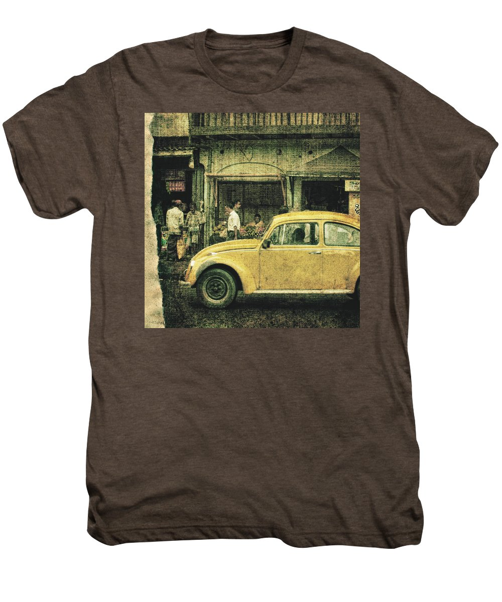 Sri Lanka Men's Premium T-Shirt featuring the photograph Unfinished Memory by Andrew Paranavitana