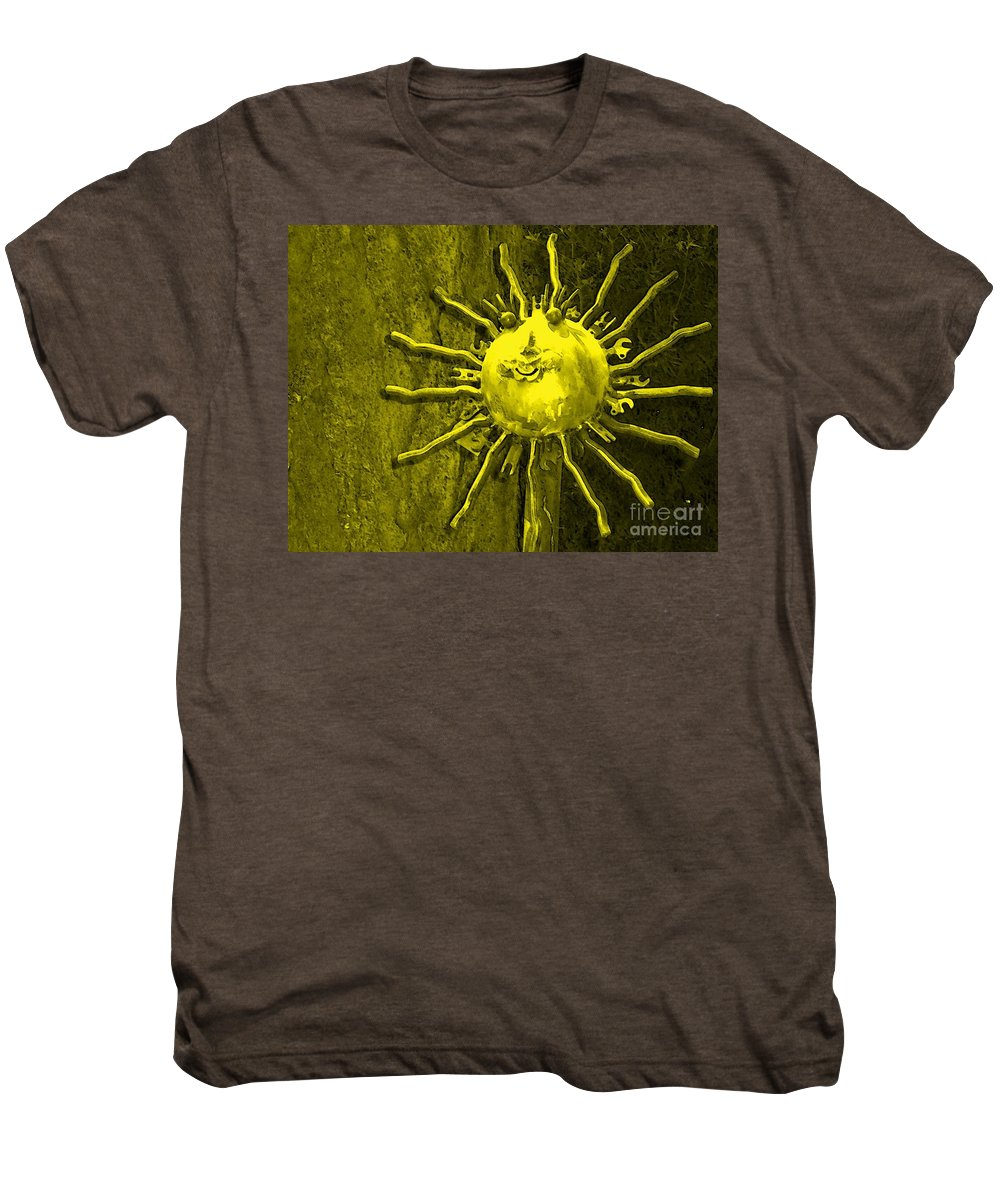Sun Men's Premium T-Shirt featuring the photograph Sun Tool by Debbi Granruth