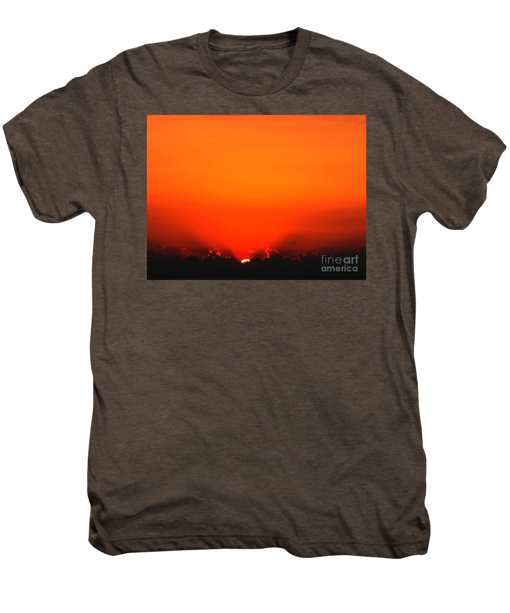Sun Men's Premium T-Shirt featuring the photograph A New Day by Amanda Barcon