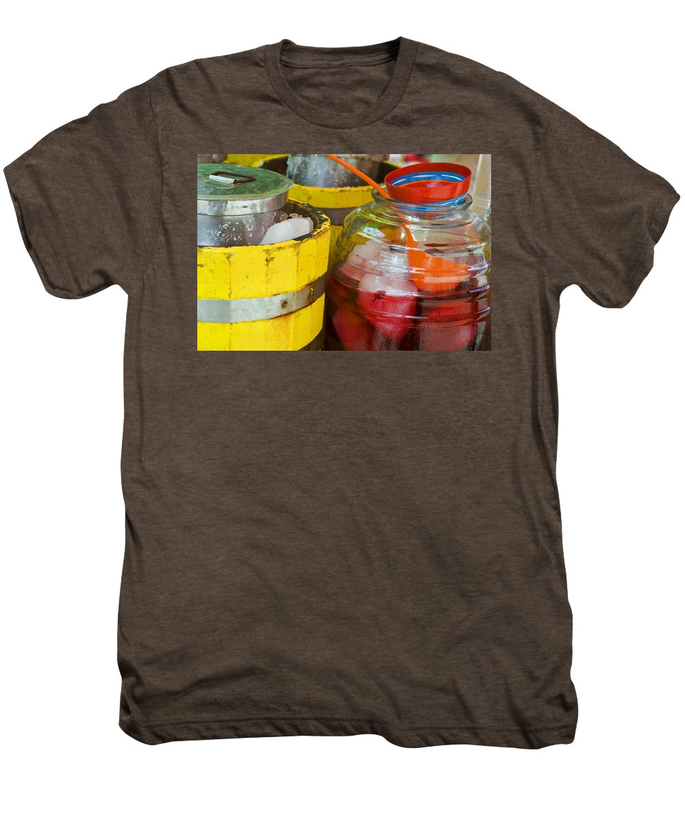 Beverage Men's Premium T-Shirt featuring the photograph Agua De Hamaica by Skip Hunt