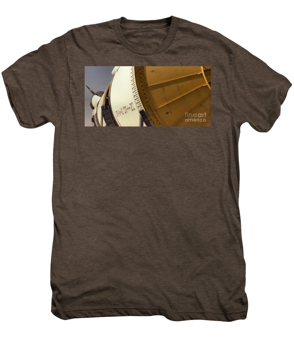 Technology Men's Premium T-Shirt featuring the photograph Apollo Rocket by Richard Rizzo