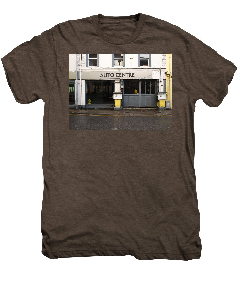 Auto Men's Premium T-Shirt featuring the photograph Auto Centre by Tim Nyberg