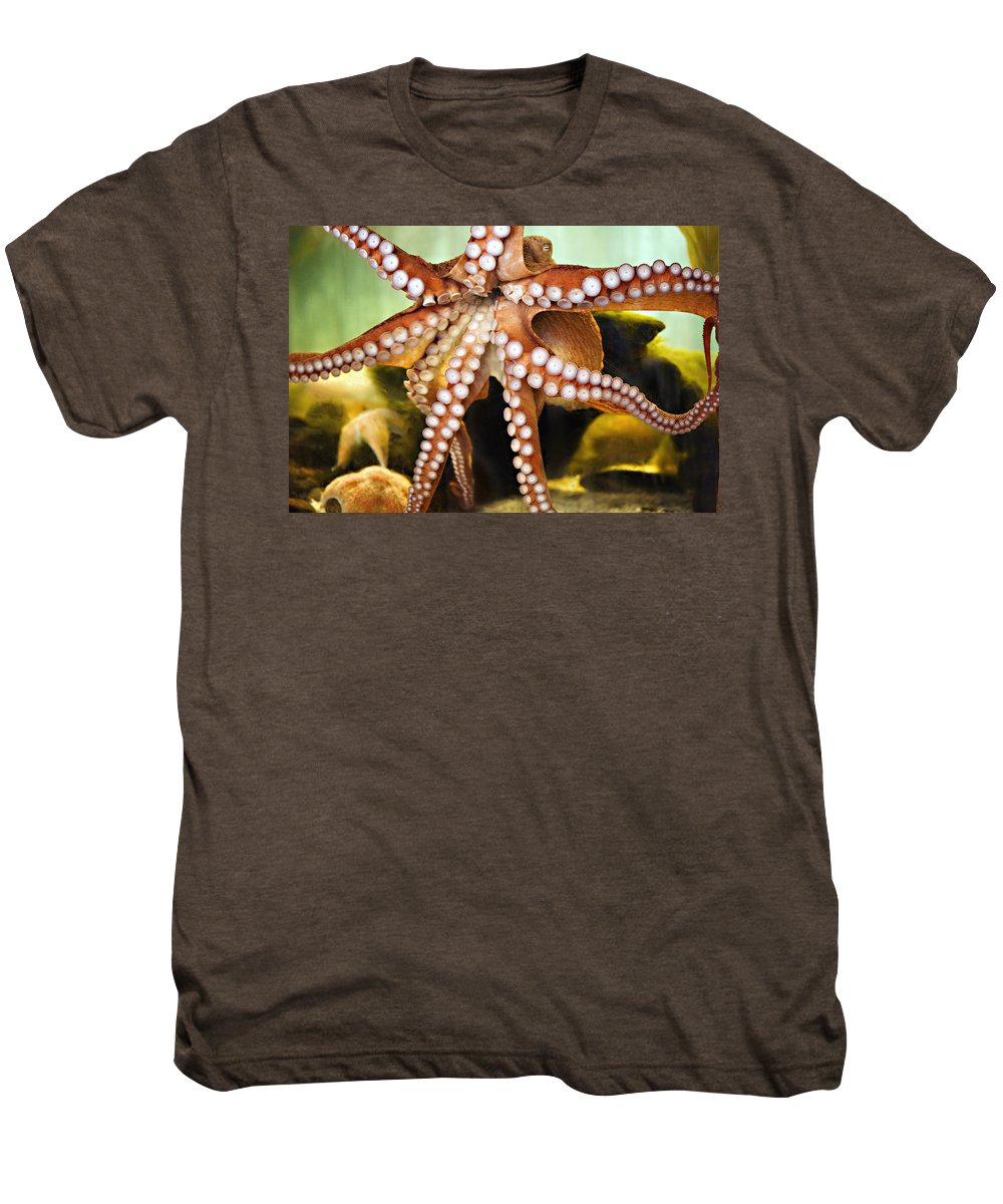 Octopus Men's Premium T-Shirt featuring the photograph Beautiful Octopus by Marilyn Hunt