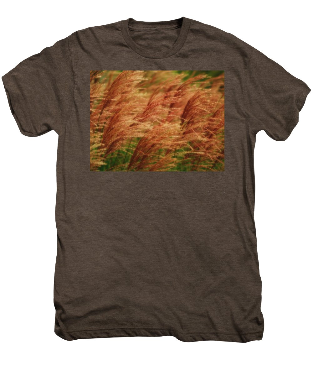 Win Men's Premium T-Shirt featuring the photograph Blowing In The Wind by Gaby Swanson