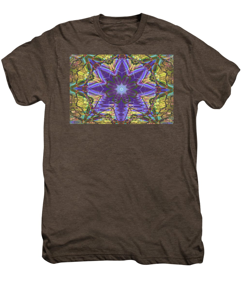 Abstract Men's Premium T-Shirt featuring the digital art Celtic Knot by Frederic Durville