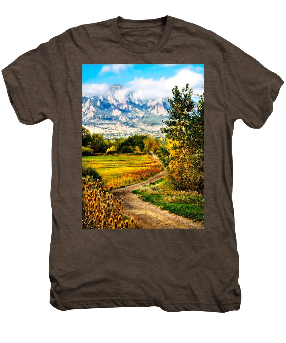 Americana Men's Premium T-Shirt featuring the photograph Clearly Colorado by Marilyn Hunt