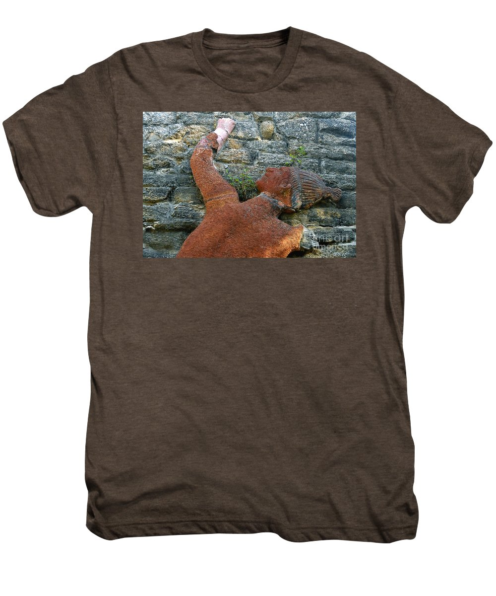 Tomoka State Park Men's Premium T-Shirt featuring the photograph Climbing To Tomoka by David Lee Thompson