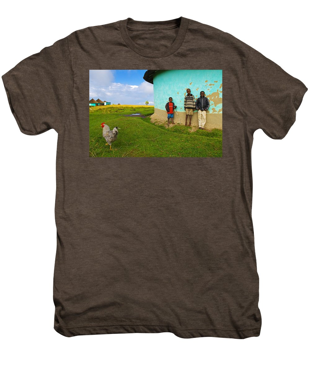 Skip Men's Premium T-Shirt featuring the photograph Cocky by Skip Hunt