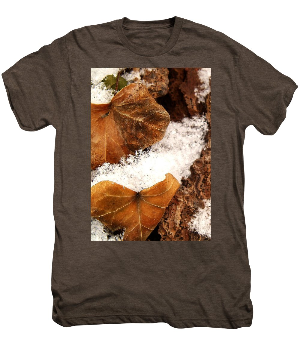 Fall Men's Premium T-Shirt featuring the photograph Fall And Winter by Gaby Swanson
