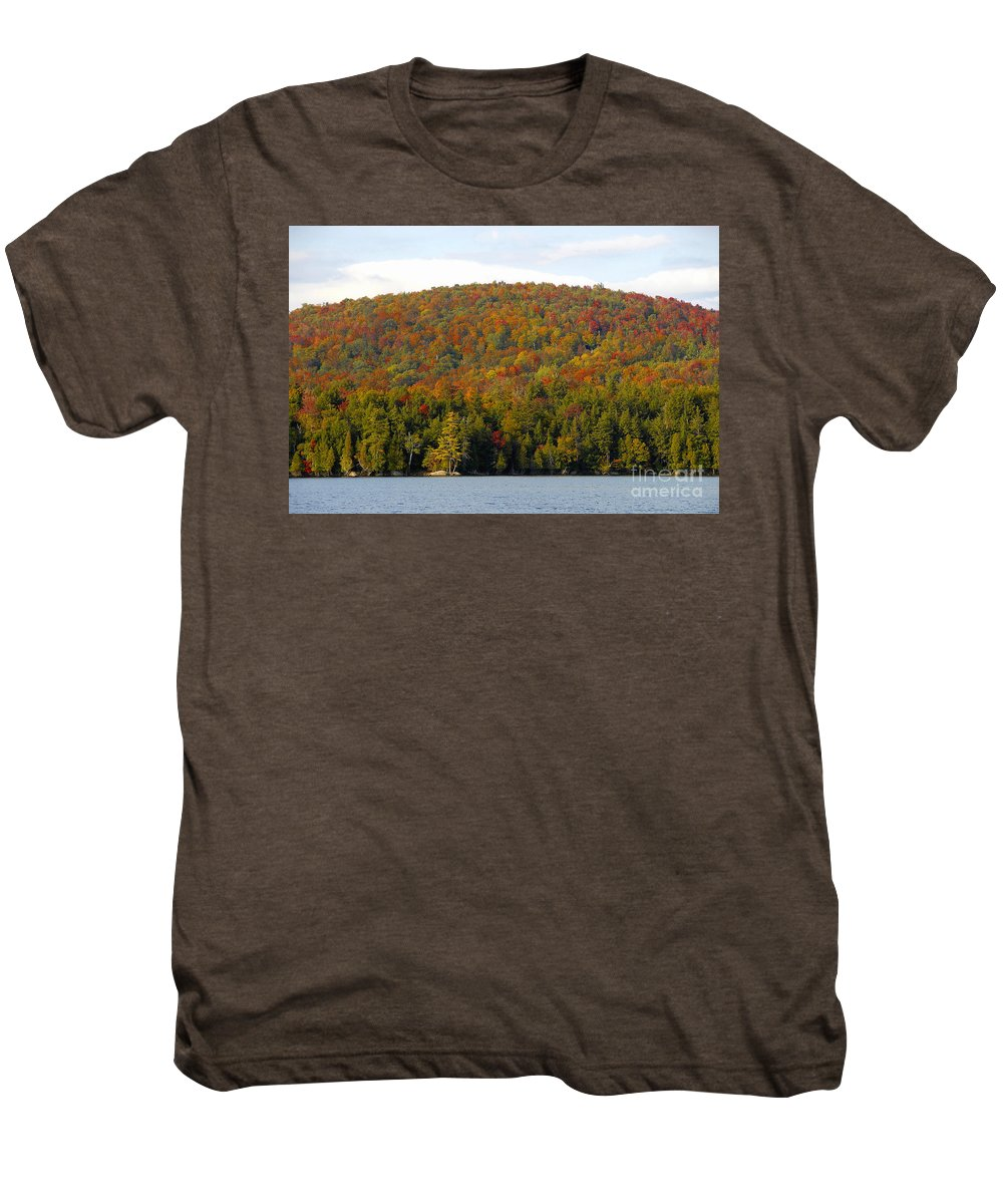 Fall Men's Premium T-Shirt featuring the photograph Fall Island by David Lee Thompson