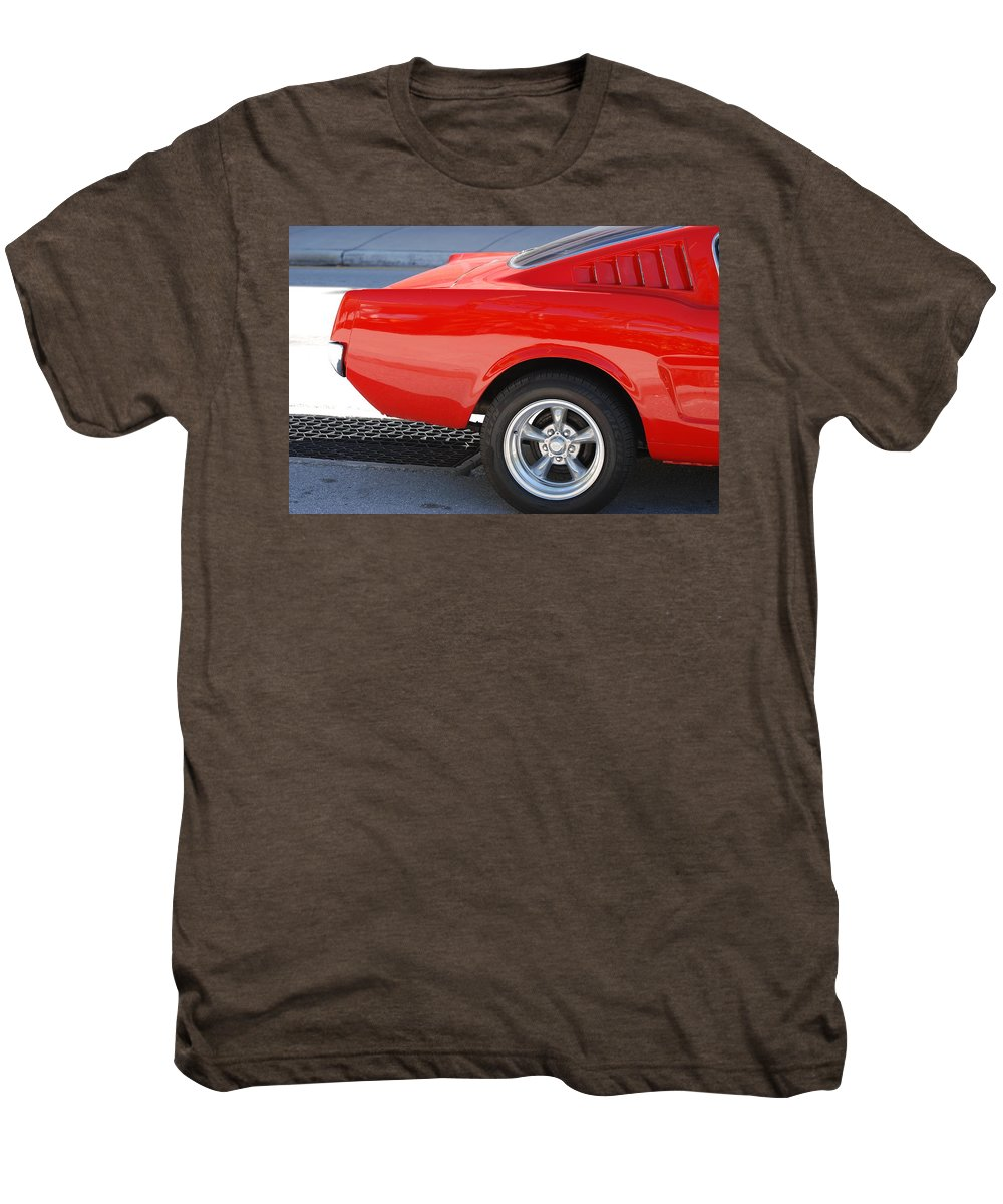 Ford Men's Premium T-Shirt featuring the photograph Fastback Mustang by Rob Hans