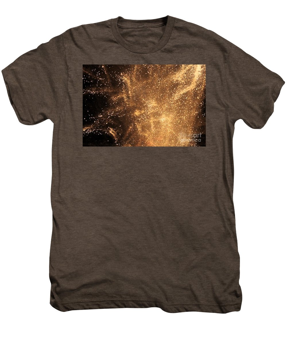 Fireworks Men's Premium T-Shirt featuring the photograph Fired Up by Debbi Granruth