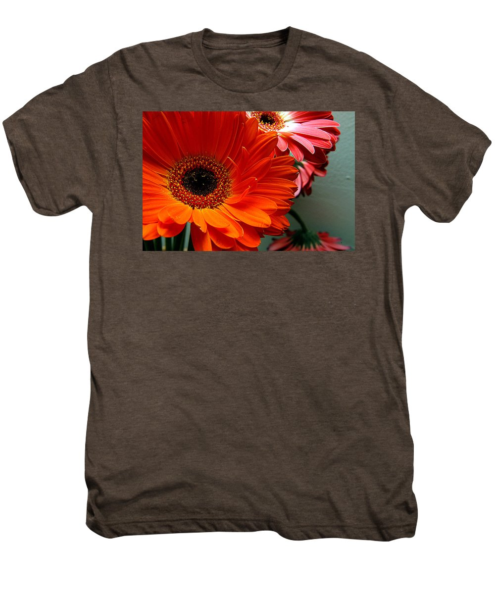 Clay Men's Premium T-Shirt featuring the photograph Floral Art by Clayton Bruster