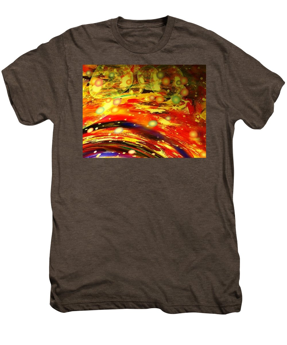 Galaxy Men's Premium T-Shirt featuring the digital art Galaxy by Natalie Holland