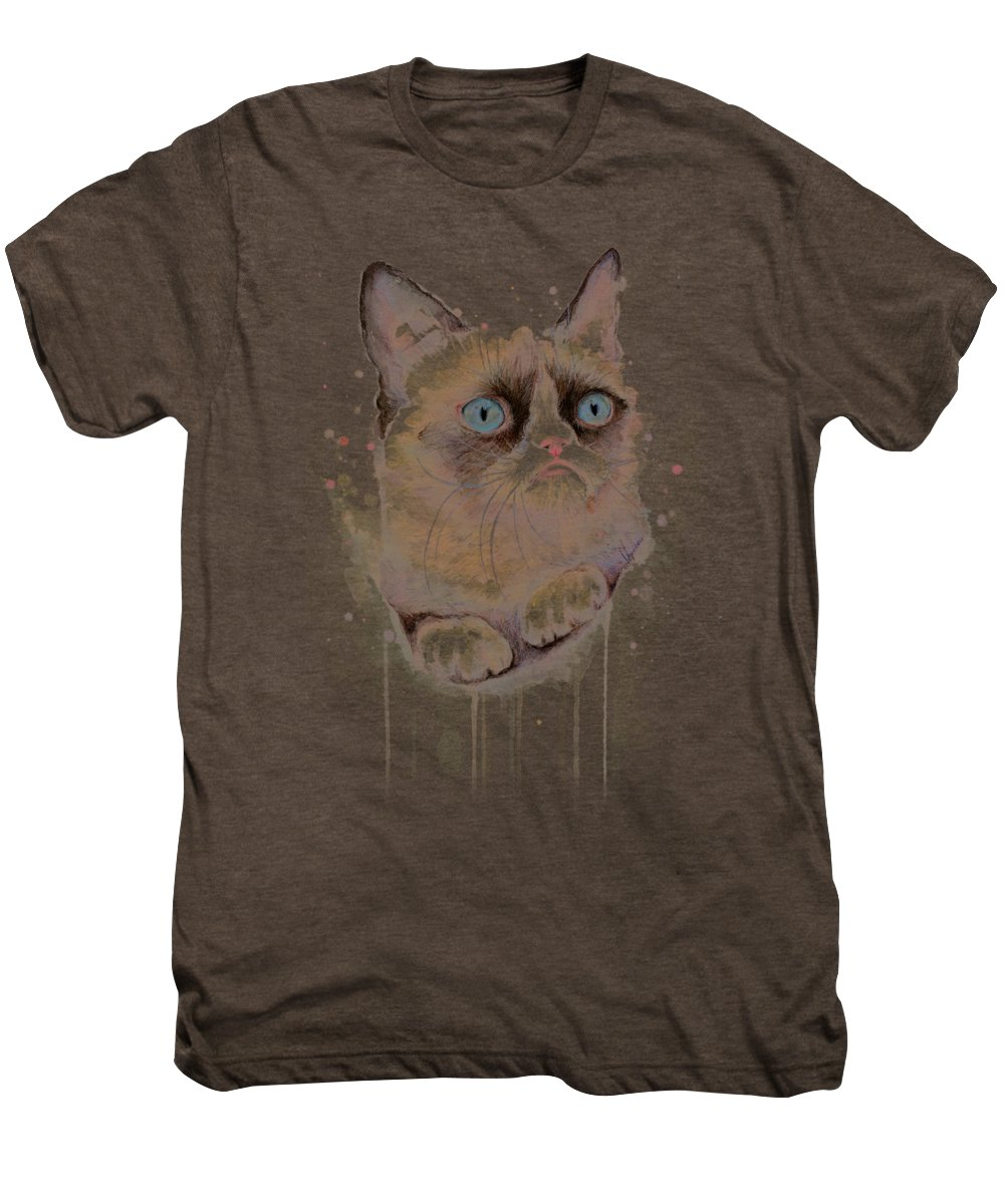 Watercolor Pet Portraits Premium T-Shirts