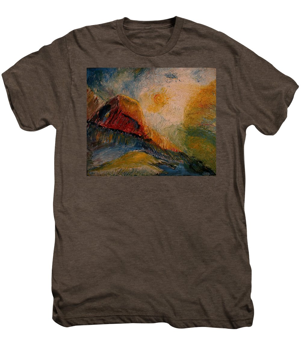 Rede Men's Premium T-Shirt featuring the painting Harvast by Jack Diamond