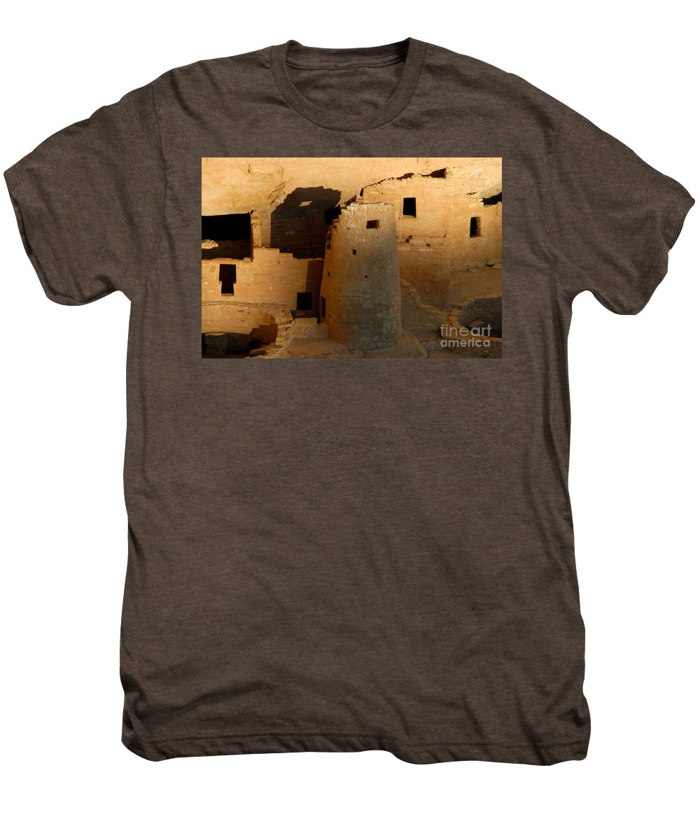 Anasazi Men's Premium T-Shirt featuring the photograph Home Of The Anasazi by David Lee Thompson