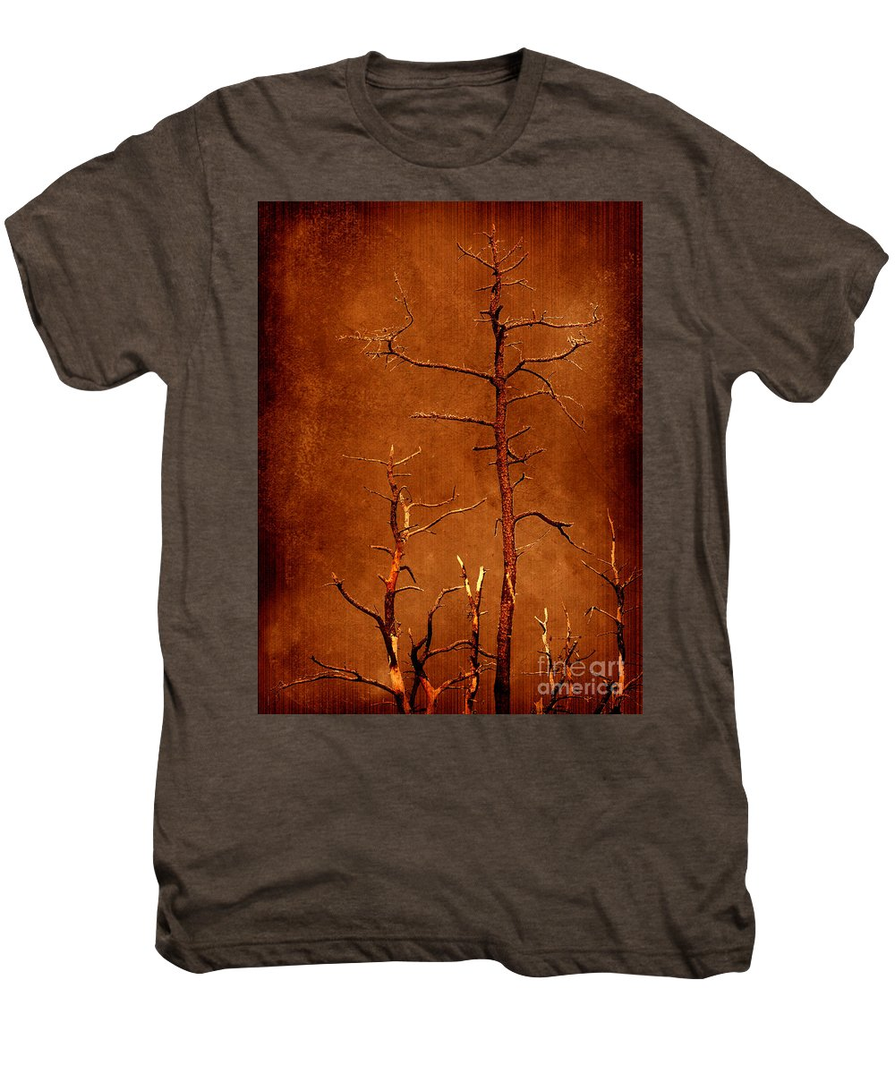 Dipasquale Men's Premium T-Shirt featuring the photograph Left Bare And Broken by Dana DiPasquale