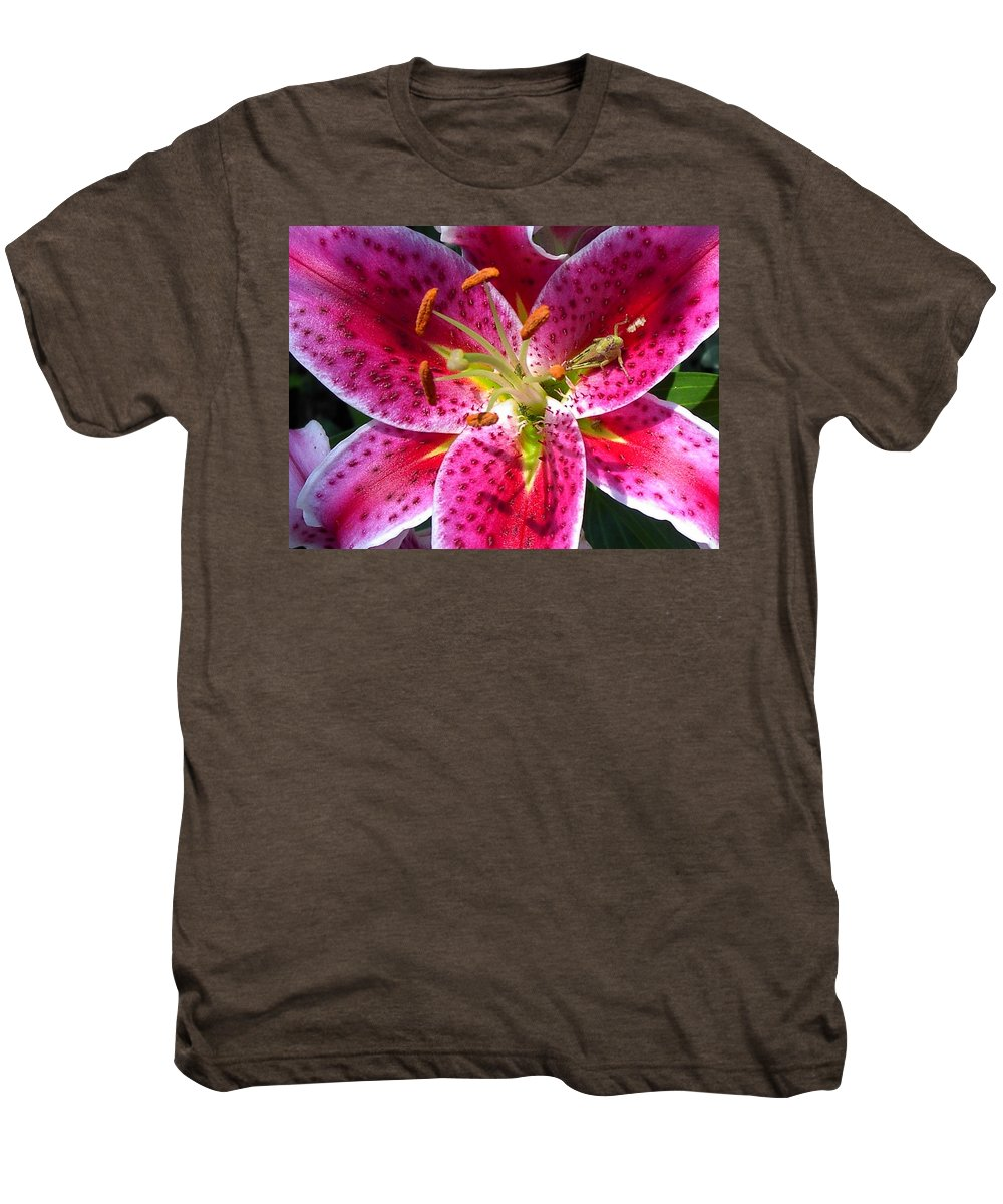 Charity Men's Premium T-Shirt featuring the photograph Lily by Mary-Lee Sanders